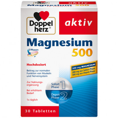 Doppelherz® Magnézium 500 30 2-fázisú tabletta