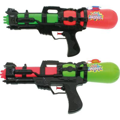 Pistolet à eau XL 38cm 2 couleurs assorti avec rés