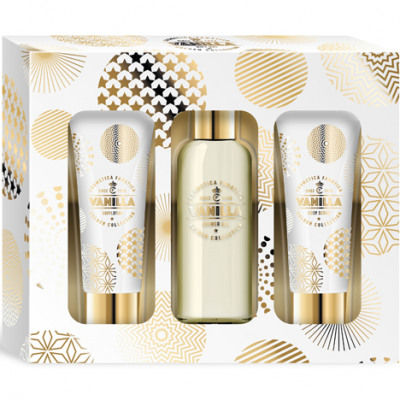 Gift set Gold Vanilla 3 parts, 105ml shower gel