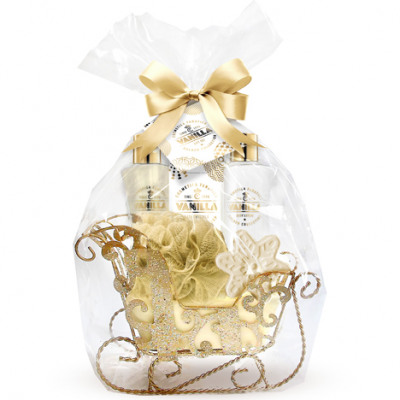Gift set gold vanilla 6 pieces with great
