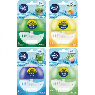 WC-illatos öblítőszer Ambi Pur 55ml 4- szer szortí