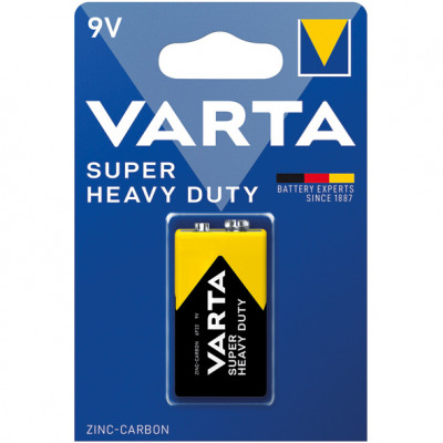 Akkumulátor Varta Superlife 9 Volt 1er