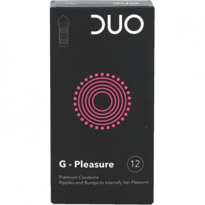 Óvszer DUO 12er G-Pleasure Beiersdorfból