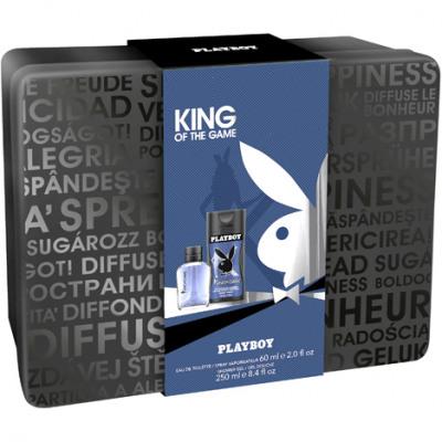 Playboy GP EdT 60ml + zuhany 250ml király