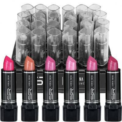 Rouge à lèvres SABRINA couleurs perle 3.8g