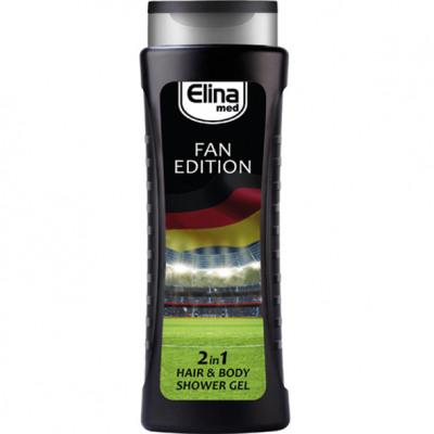 Żel pod prysznic Edition Elina Med Fan 2w1 250ml