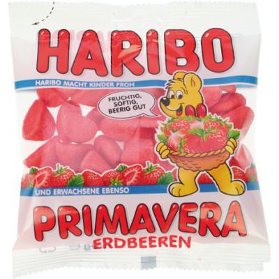 Élelmiszer Haribo Strawberry 100gr