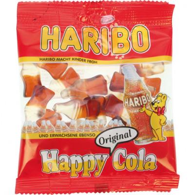 Élelmiszer Haribo Boldog Cola 100gr