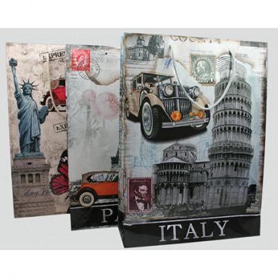 Sacchetto del regalo Italia, Parigi, New York 34,5