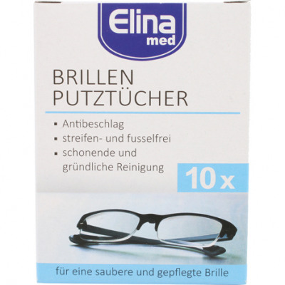 Elina 10er cleaning cloths in folding box