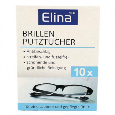 Brillenputztücher Elina 10es kartondobozban