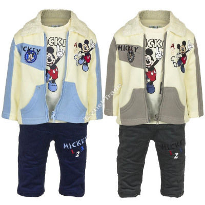 Mickey 3 pieces baby set abcd/1234