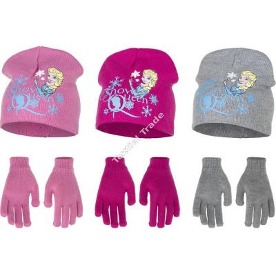 Die Eiskönigin - Frozen mutze mit handschuhe
