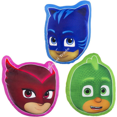 PJ Masks Shaped Pillow
