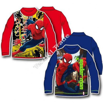 Spiderman long sleeves with turtle neck red / blue