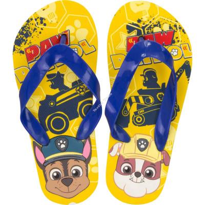 Paw Patrol flip flop Yellow
