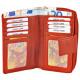 Akzent Damen Geldbörse aus Echtleder. Format 15 x