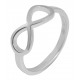925 Silber Ring, 925/rhodiniert, 1,7g, Ringgröße: