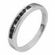 925 Silber Ring, 925/rhodiniert, 2,3g, Ringgröße: