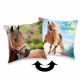 Photoprints Sweet home Horse Heart Pillow cover