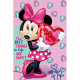 Minnie Minnie Pink blancket fleece