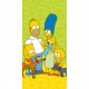The Simpsons The Simpsons family Green 02 towel