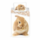 Photoprints Sweet home Bunny marrone