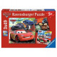 3x49 puzzle pieces - Cars 2