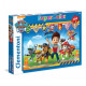 Puzzle of 104 pieces Super Color Paw Patrol