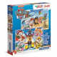 Puzzle 2x20 pieces Super Color Paw Patrol