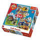 Puzzle Fireman Sam Puzzle 3in1 Fireman Sam - In ac