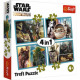 Puzzle Star Wars Puzzle 4in1 Mandalorian and his s