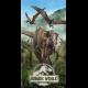 JURASSIC WORLD Jurassic World Forest plazo towel