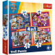 Puzzle 4in1 Puzzle Paw patrol in the city