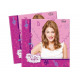 Violetta birthday napkins - 33 cm - 20 pieces