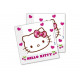 Birthday Napkins Hello Kitty Hearts - 33 cm - 20
