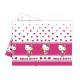 Birthday tablecloth Hello Kitty Heart - 120 x 180
