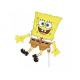 Foil balloon to stick SpongeBob - 37 cm - 1 units.