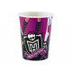Cans birthday Monster High - 250 ml - 8 units.