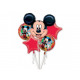 Bouquet of foil balloons Mickey Mickey - 1 set.