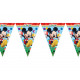 Mickey Mouse flag banner - 230 cm - 1 piece