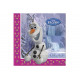 Birthday napkins Olaf - frozen - Frozen -