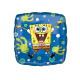 Foil balloon SpongeBob blue - 47 cm