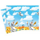 Birthday tablecloth Olaf - frozen - Frozen - 120