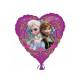 Foil balloon heart frozen 47 cm