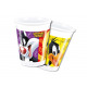 Looney Tunes birthday cups - 200 ml - 8 items