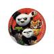 Birthday Kung Fu Panda - 23 cm - 8 pcs