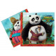 Birthday napkins Kung Fu Panda - 33 cm - 20 pcs