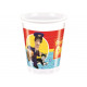Birthday cups Pat Postman - 200 ml - 8 items