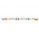 Noddy birthday banner in the Land of Toys - 1 item